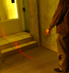 Image showing a prototype laser cane